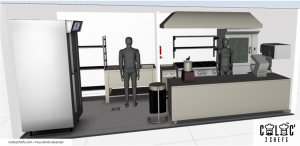 Create a commercial kitchen