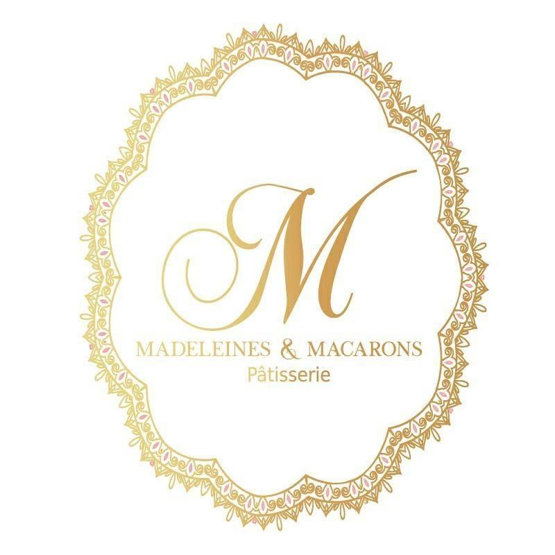 Madeleines & macarons